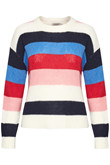 SOAKED IN LUXURY FRIDA STRIPED PULLOVER 30403616