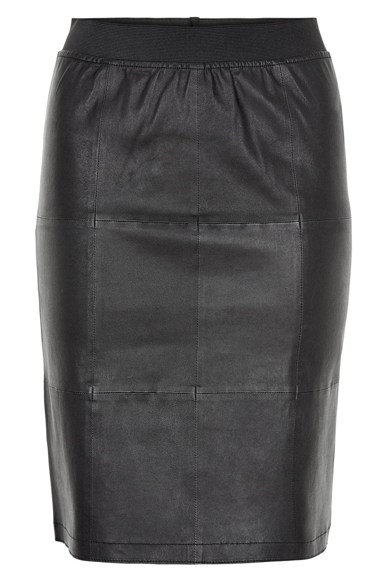 STELLA NOVA LEATHER SKIRT SL71-6001