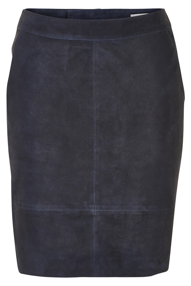 GESTUZ CHAR SUEDE MINI SKIRT