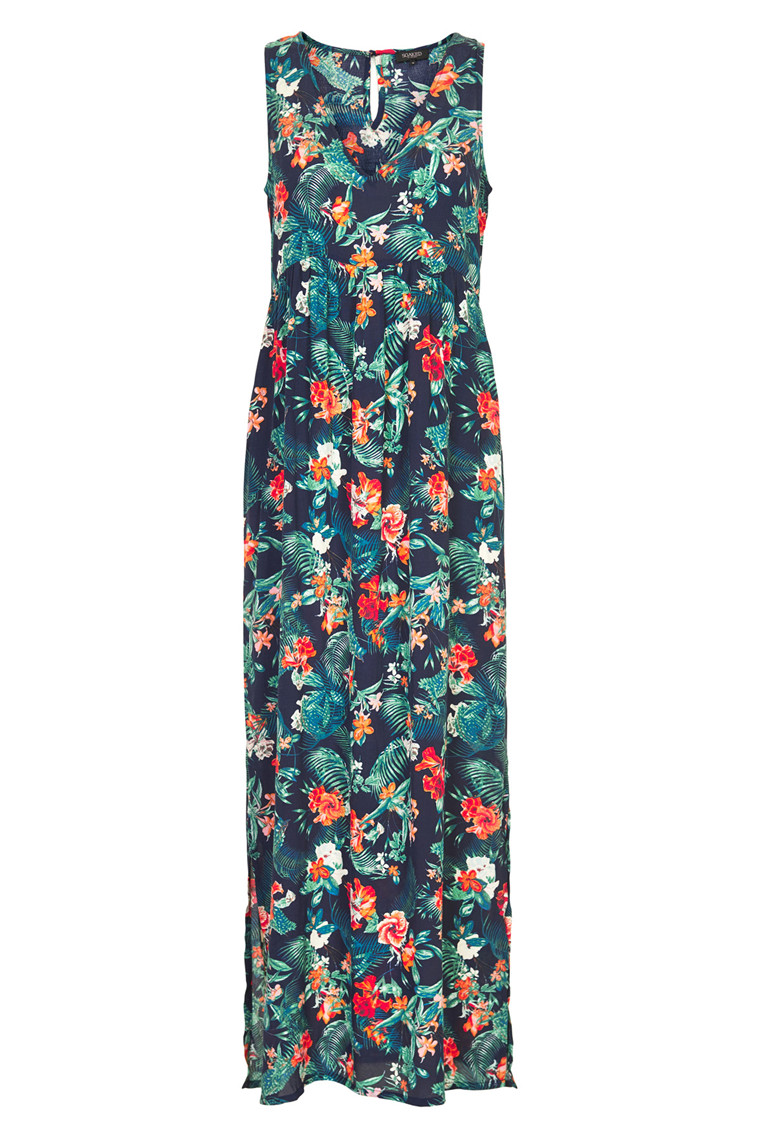 SOAKED IN LUXURY BELL MAXI DRESS
