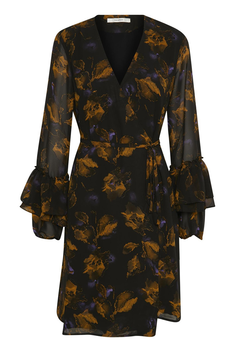 GESTUZ CAROLA WRAP DRESS