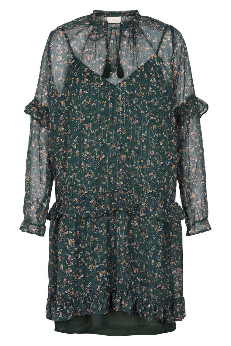 NEO NOIR ABELA PRINTED DRESS 015296
