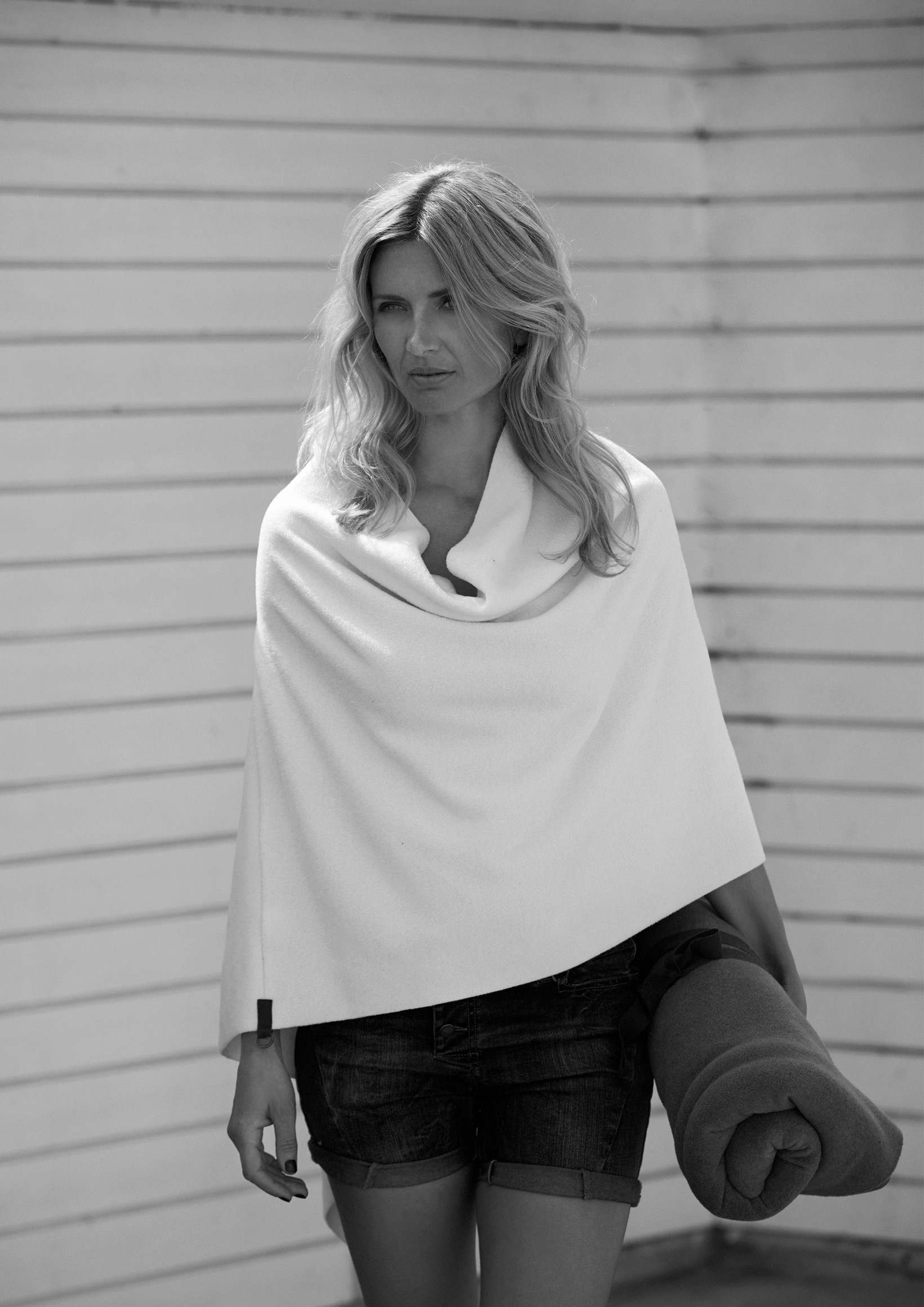b520ae965f71 Buy Henriette Steffensen Fleece Coat online HENRIETTE STEFFENSEN Copenhagen  4026 PONCHO O ...