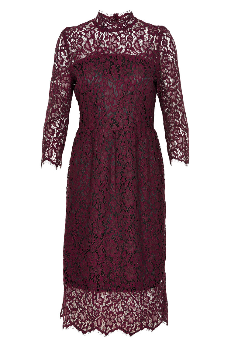 SOAKED IN LUXURY ASTA LACE DRESS