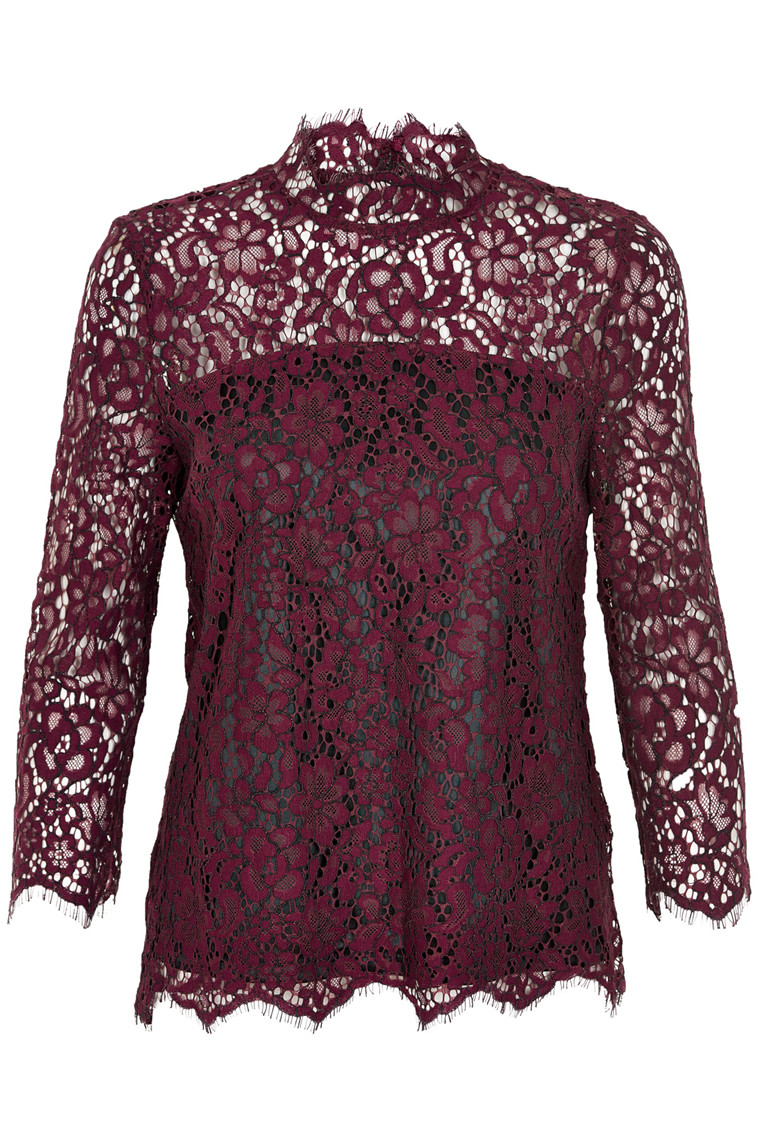 SOAKED IN LUXURY ASTA LACE BLOUSE