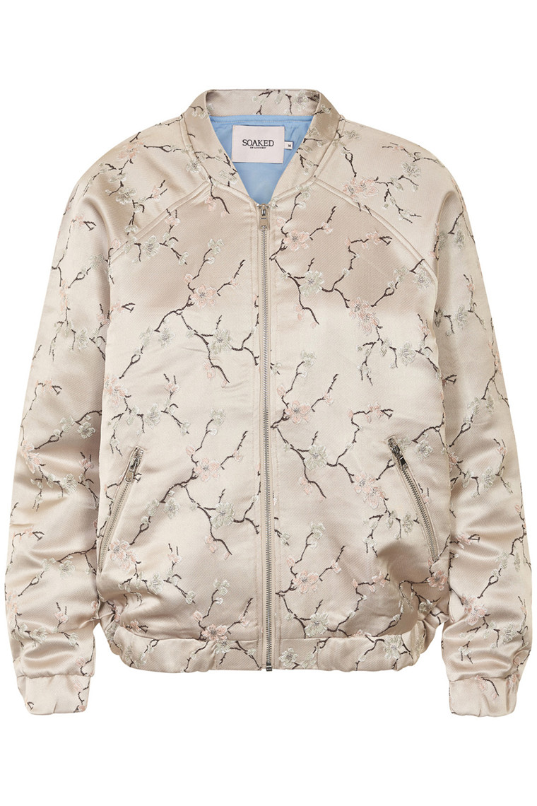 SOAKED IN LUXURY DAFNE BOMBER JACKET