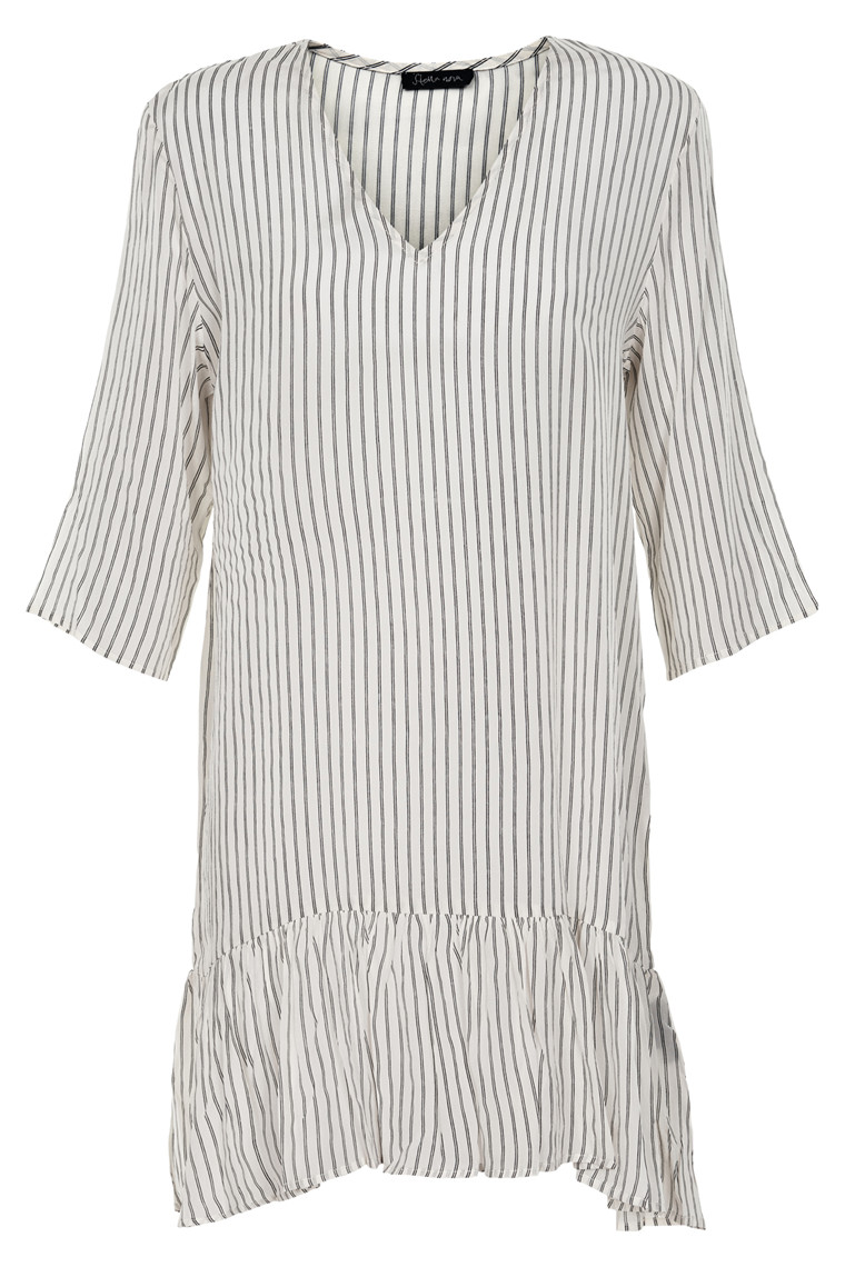 STELLA NOVA PR. STRIPES DRESS PS71-4988 OW