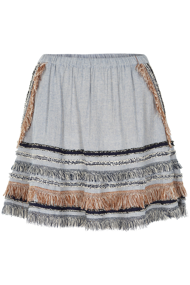 STELLA NOVA AFRICAN COTTON SKIRT AS72-4122