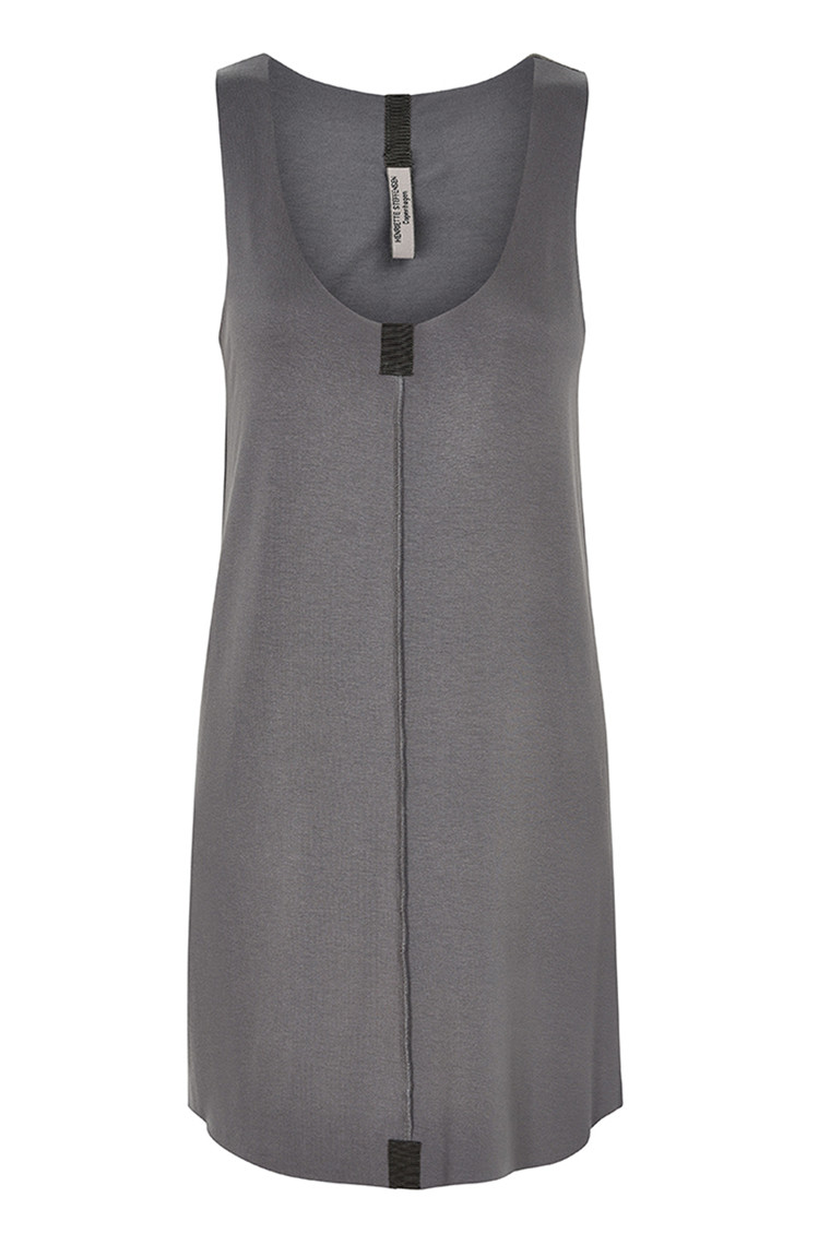 HENRIETTE STEFFENSEN Copenhagen 6009 LONG TOP GREY