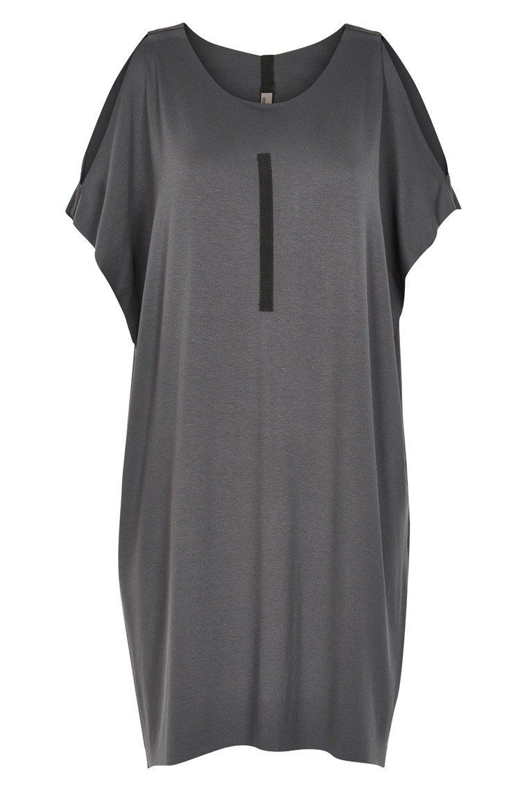 HENRIETTE STEFFENSEN Copenhagen 6051 DRESS GREY