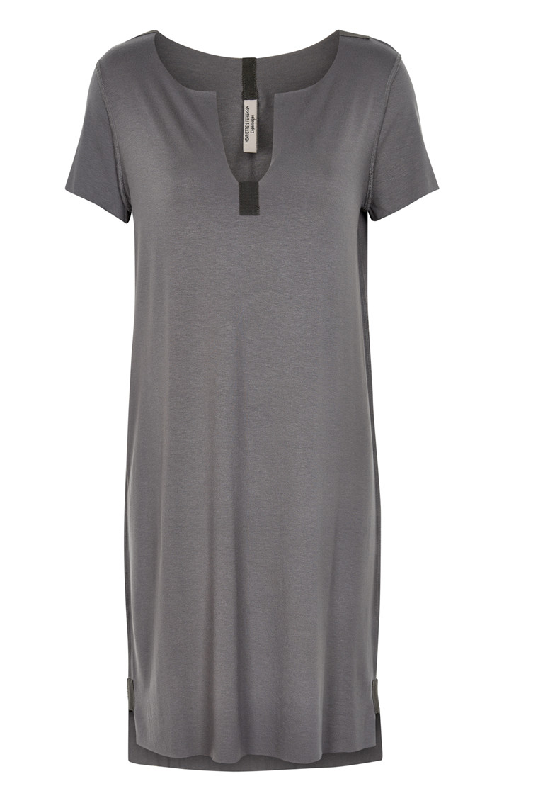 HENRIETTE STEFFENSEN Copenhagen 6052 DRESS GREY