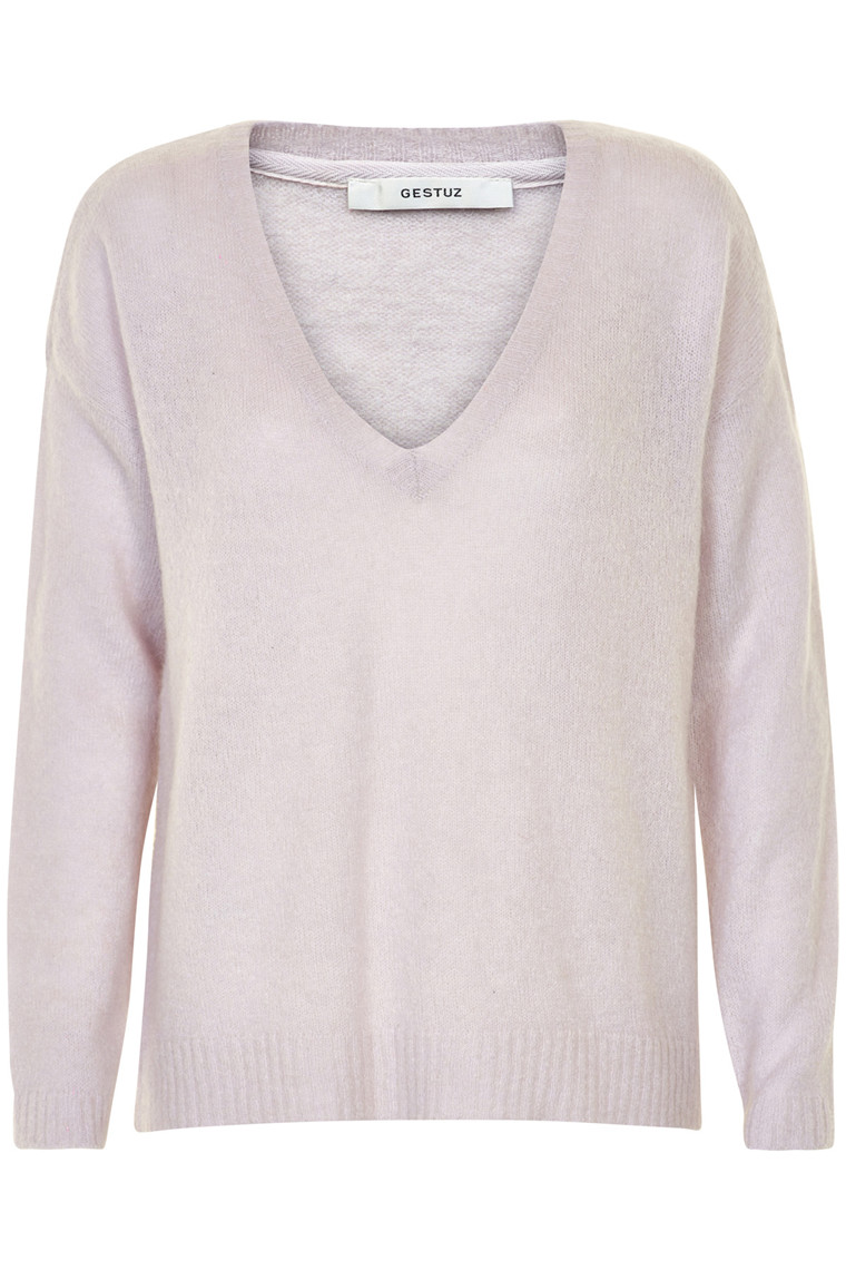 GESTUZ OBA V-NECK SWEATER