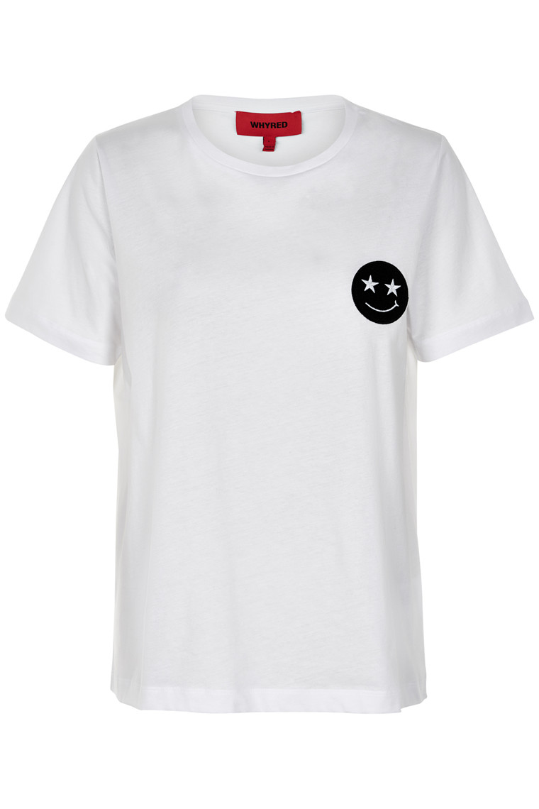 WHYRED VONYA EMBROIDERED T-SHIRT