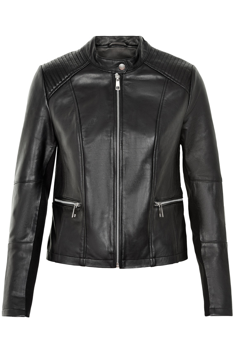 SOAKED IN LUXURY LEXIE LEATHER JACKET