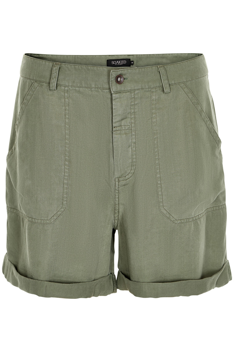 SOAKED IN LUXURY CALLY SHORTS