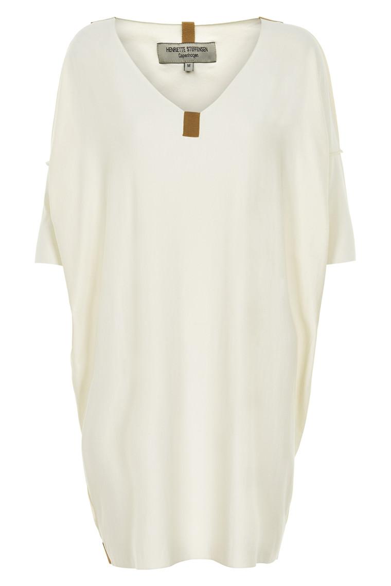 HENRIETTE STEFFENSEN Copenhagen 8010 DRESS OFF WHITE