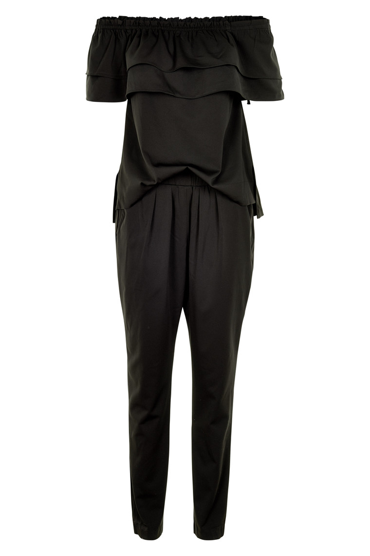 NEO NOIR APRIL FRILL JUMPSUIT 014811