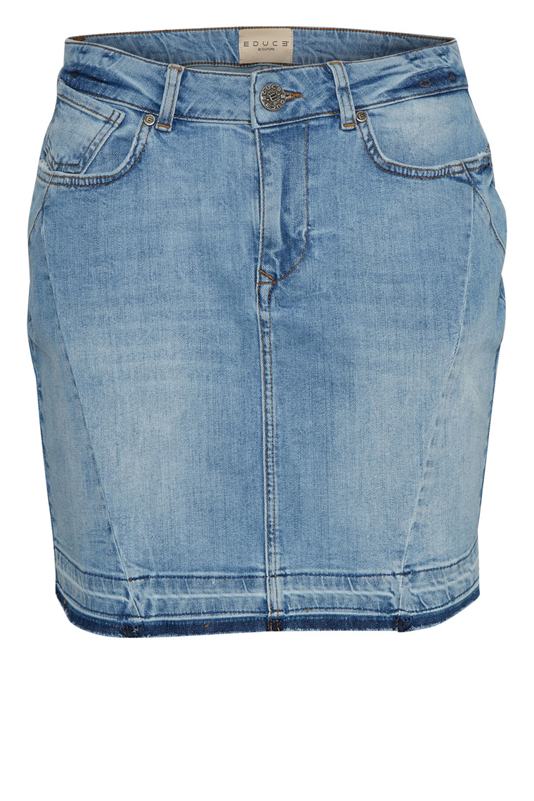 EDUCE ADDIE DENIM SKIRT 50301516