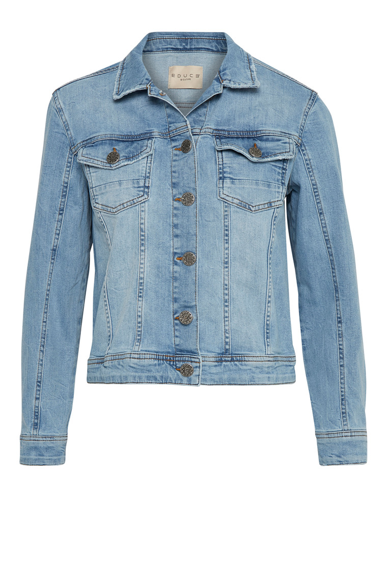 EDUCE ADDIE DENIM JAKKE 50301515