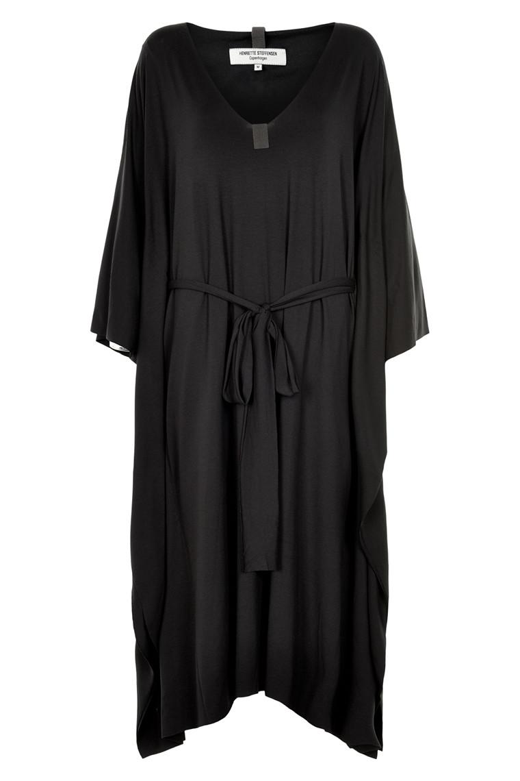 HENRIETTE STEFFENSEN Copenhagen 6057 DRESS BLACK