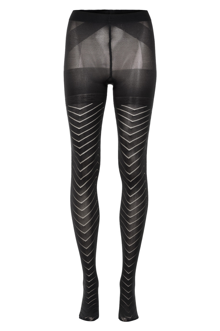 DECOY HERRINHBONE MAGIC LIFT TIGHTS 16813