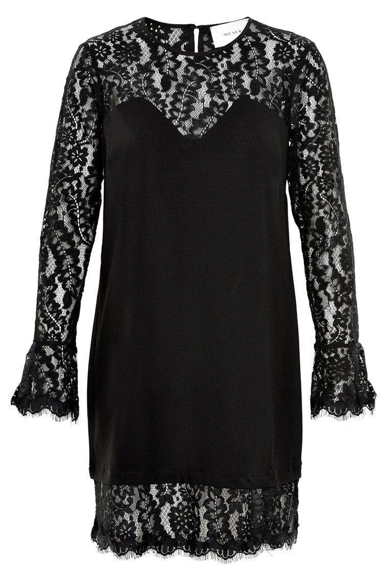 NEO NOIR KIRA LACE DRESS 015019