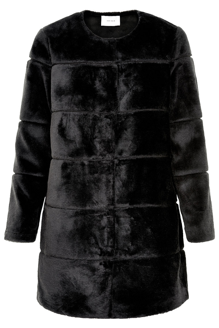 NEO NOIR FILIPPA FAUX FUR COAT 014654