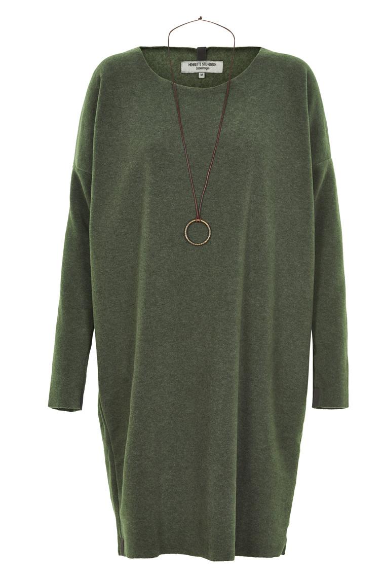 HENRIETTE STEFFENSEN Copenhagen 3211 DRESS GREEN