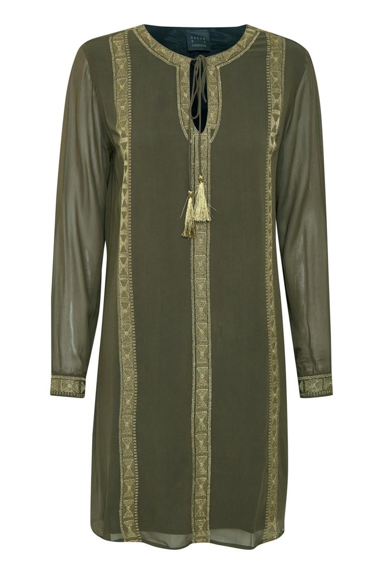 KAREN BY SIMONSEN BOHEME DRESS 10101364