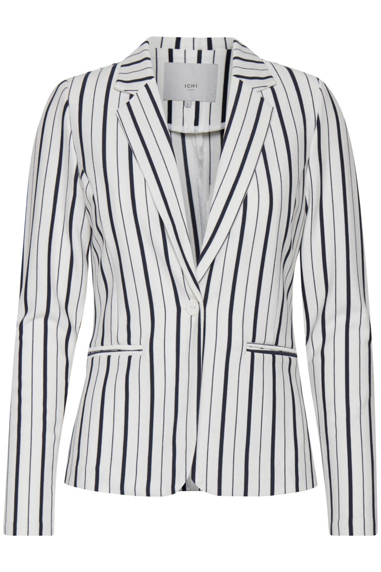 ICHI KATE STRIPE BLAZER 20105550