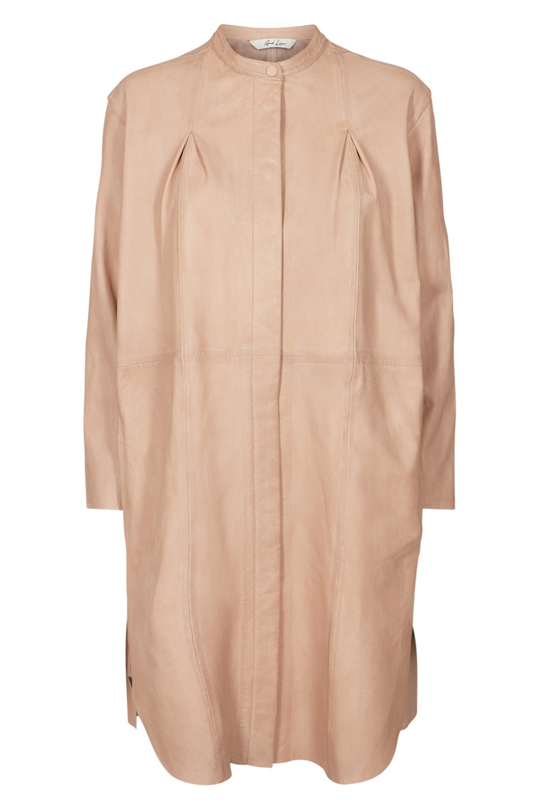 AND LESS FREDERIKKE LEATHER DRESS 5118810