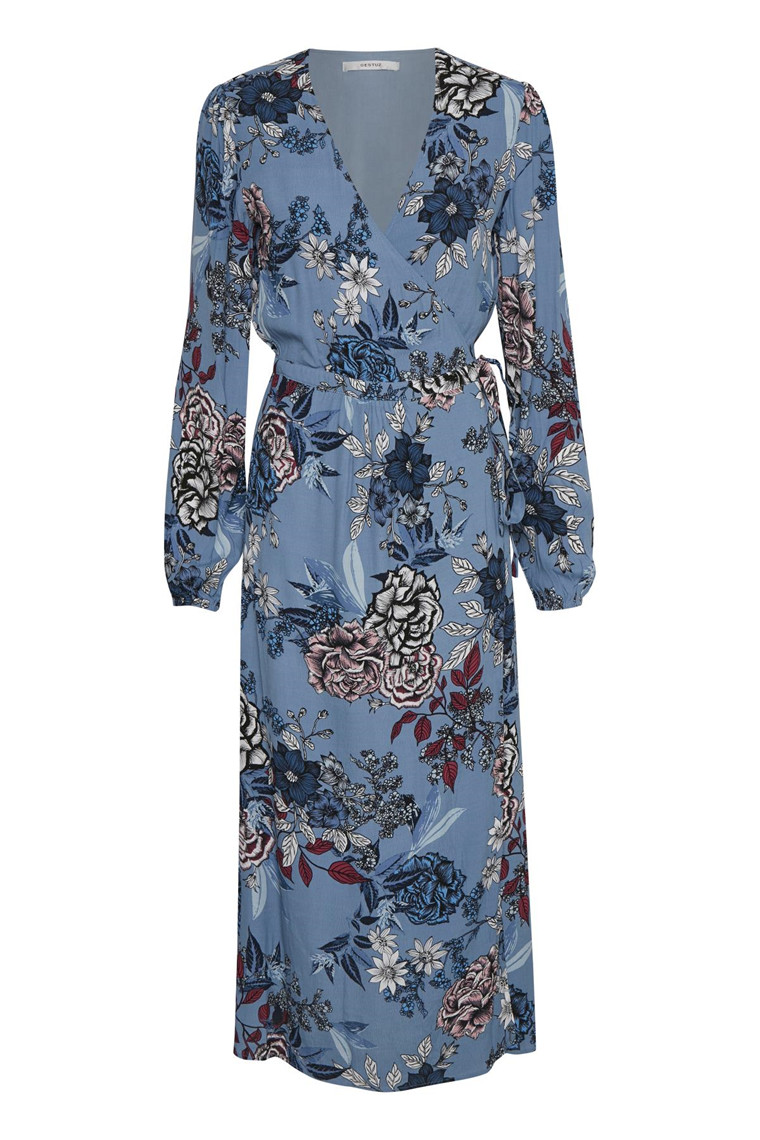 GESTUZ BEGONIA WRAP DRESS