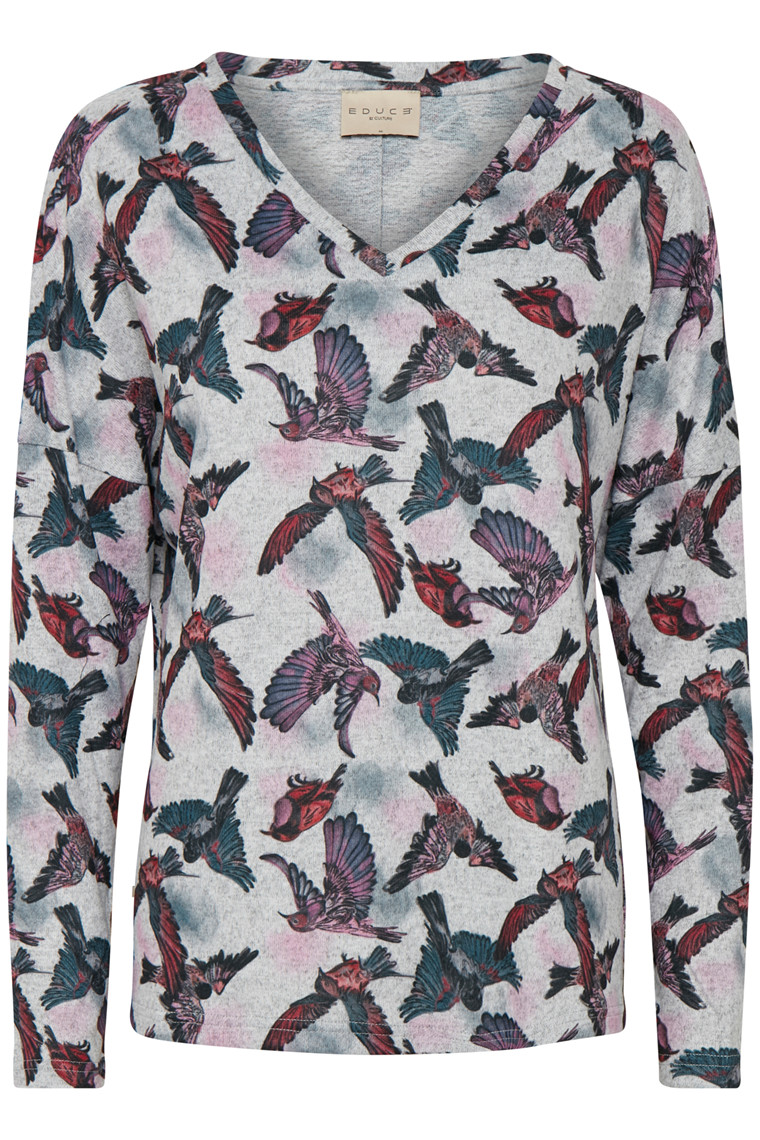 EDUCE SALLY BIRD BLOUSE 50301814