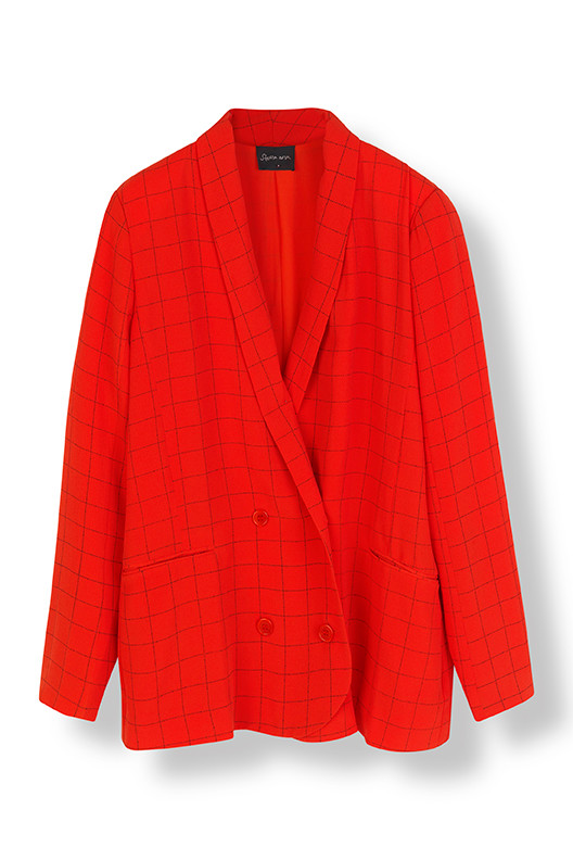 STELLA NOVA SUMMER CHECKS BLAZER SC-5060
