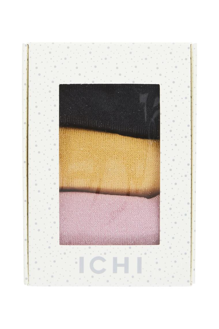 ICHI A MONACO 3-PAK SOKKER 20106334