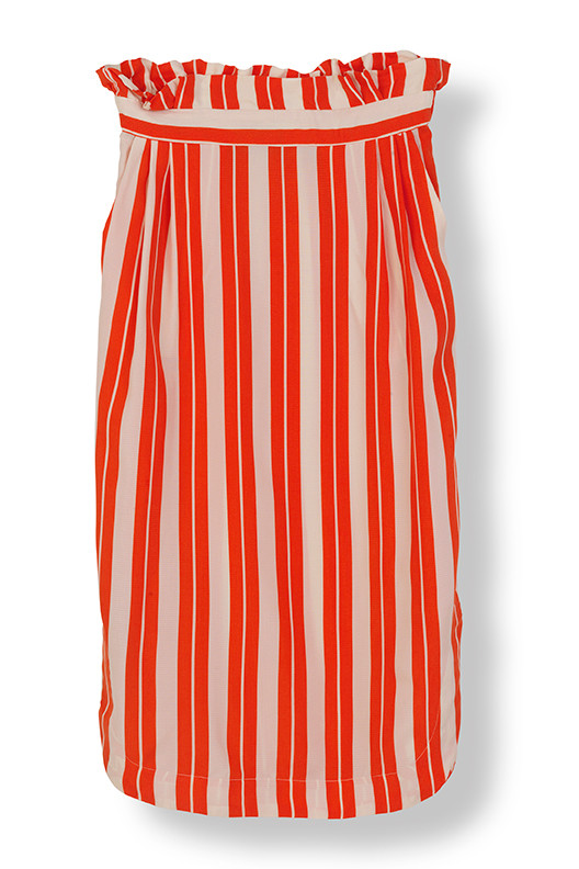 STELLA NOVA CUPRO STRIPES SKIRT CA-4429