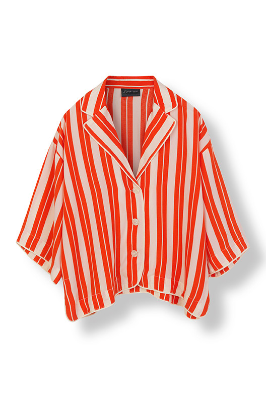 STELLA NOVA CUPRO STRIPES SHIRT CA-4127