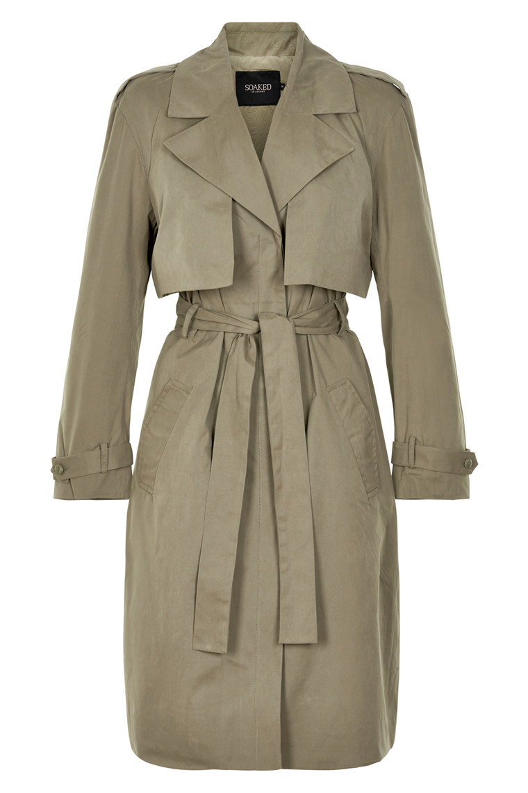 SOAKED IN LUXURY ANI TRENCH COAT