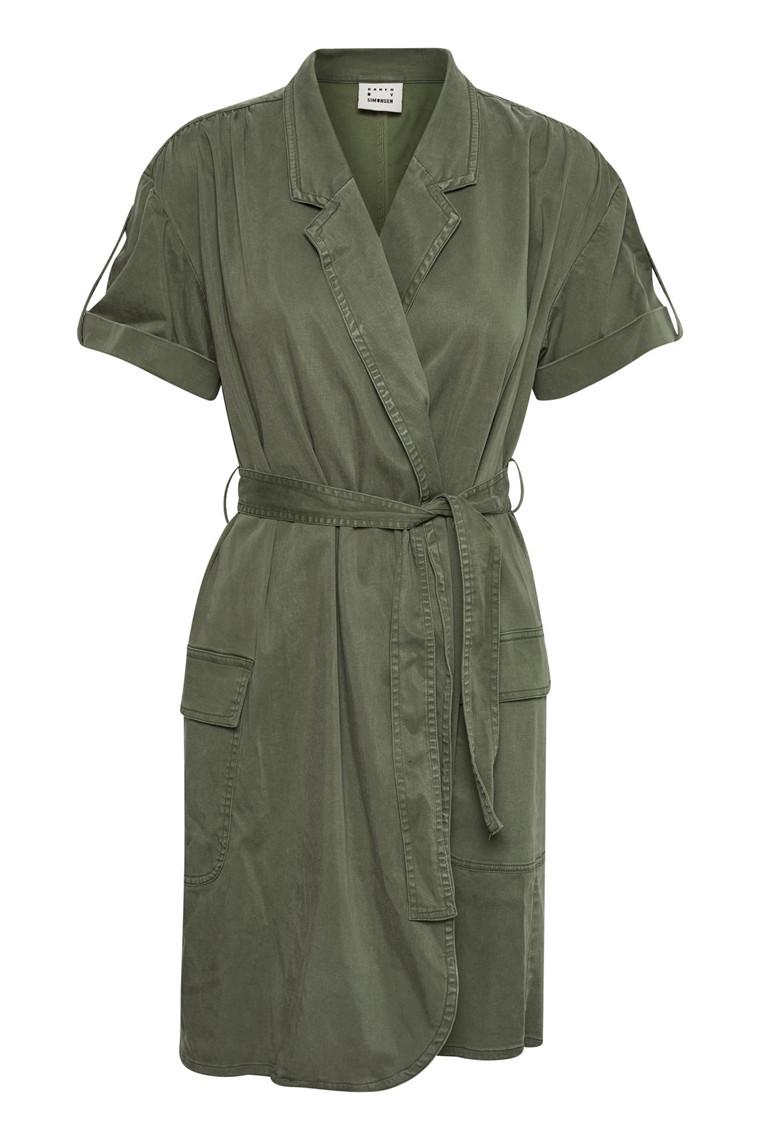 KAREN BY SIMONSEN TAINTED DRESS 10101135