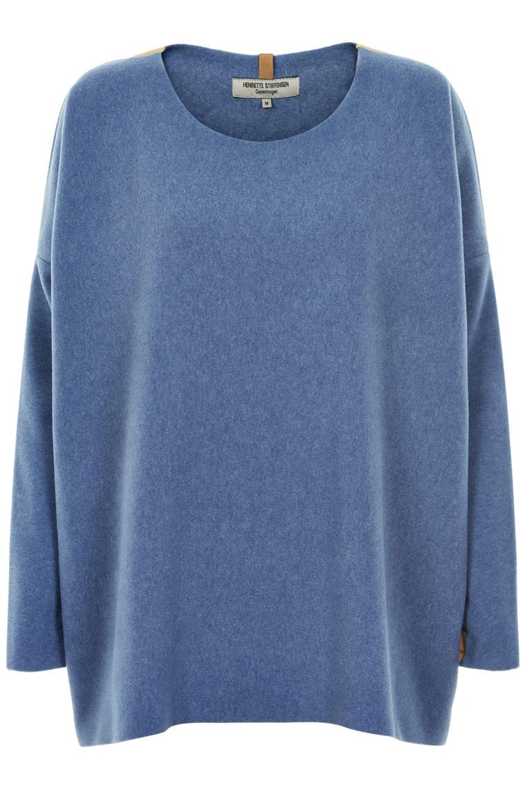 HENRIETTE STEFFENSEN Copenhagen 1135G SWEATER BLUE