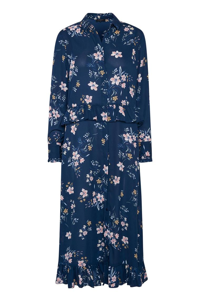 SOAKED IN LUXURY PELLA DRESS 30403536