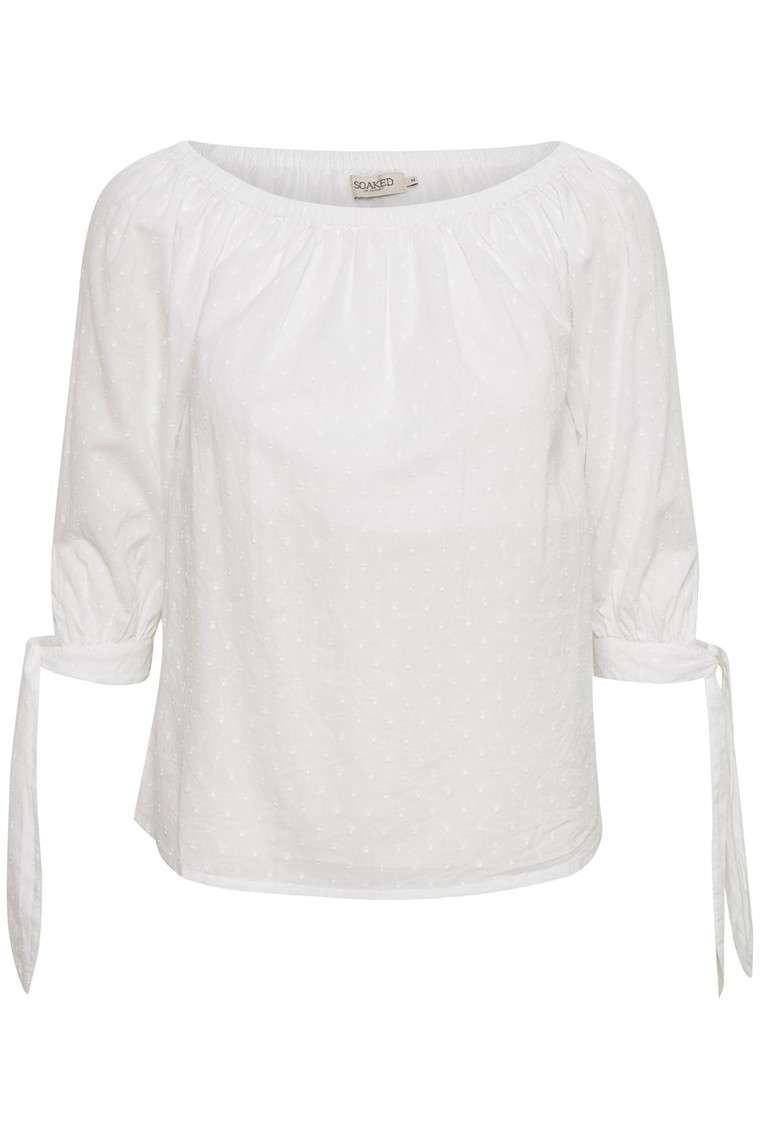 SOAKED IN LUXURY LASSIE TOP 3/4 30402929
