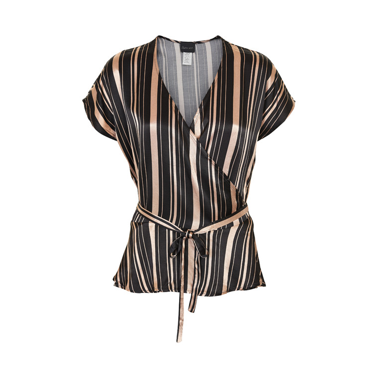 STELLA NOVA VISCOSE STRIPE TOP VS63-4879