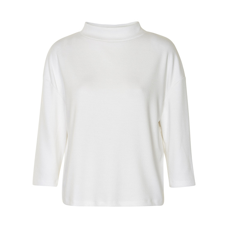 SOAKED IN LUXURY HEATHER 3/4 TOP 30400743