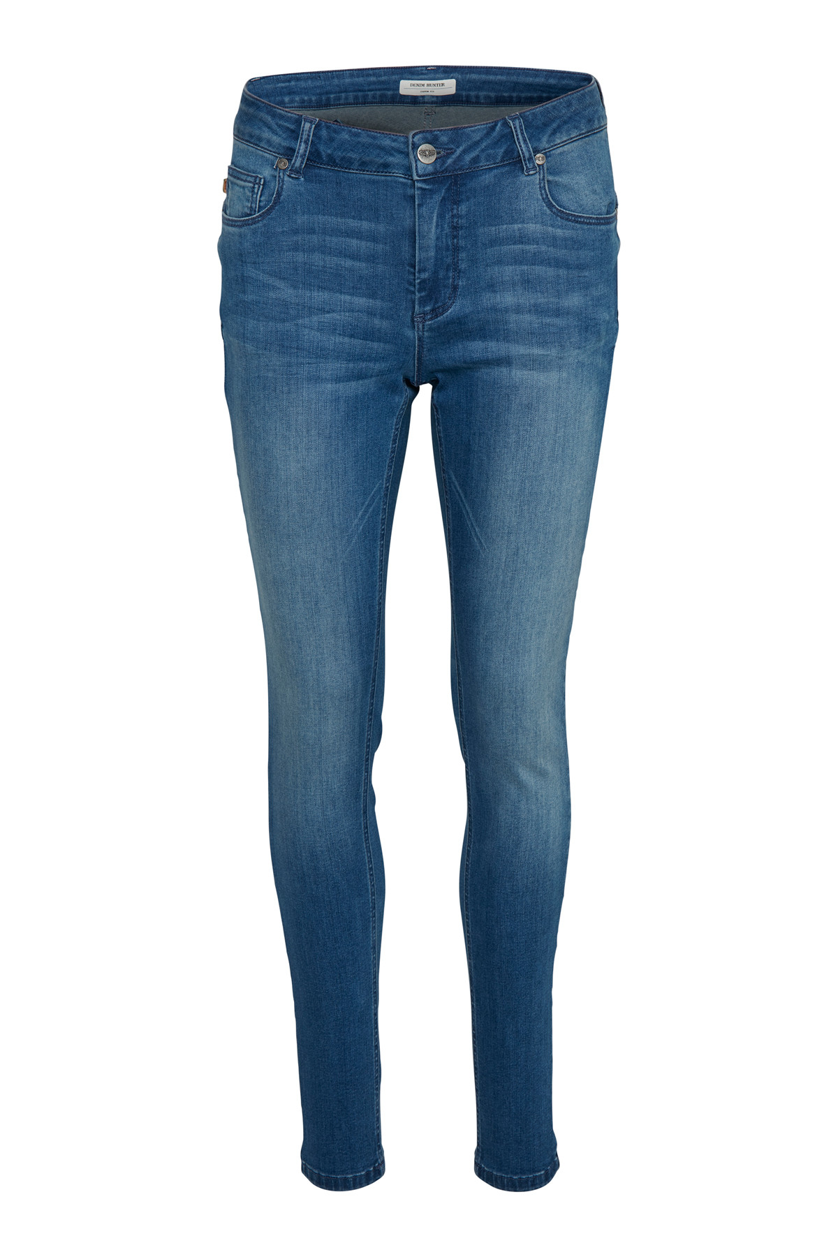 "Image of   Denim Hunter CELINA LONG CUSTOM 10701356 B (Blue Wash 38510, ""32"", 25)"