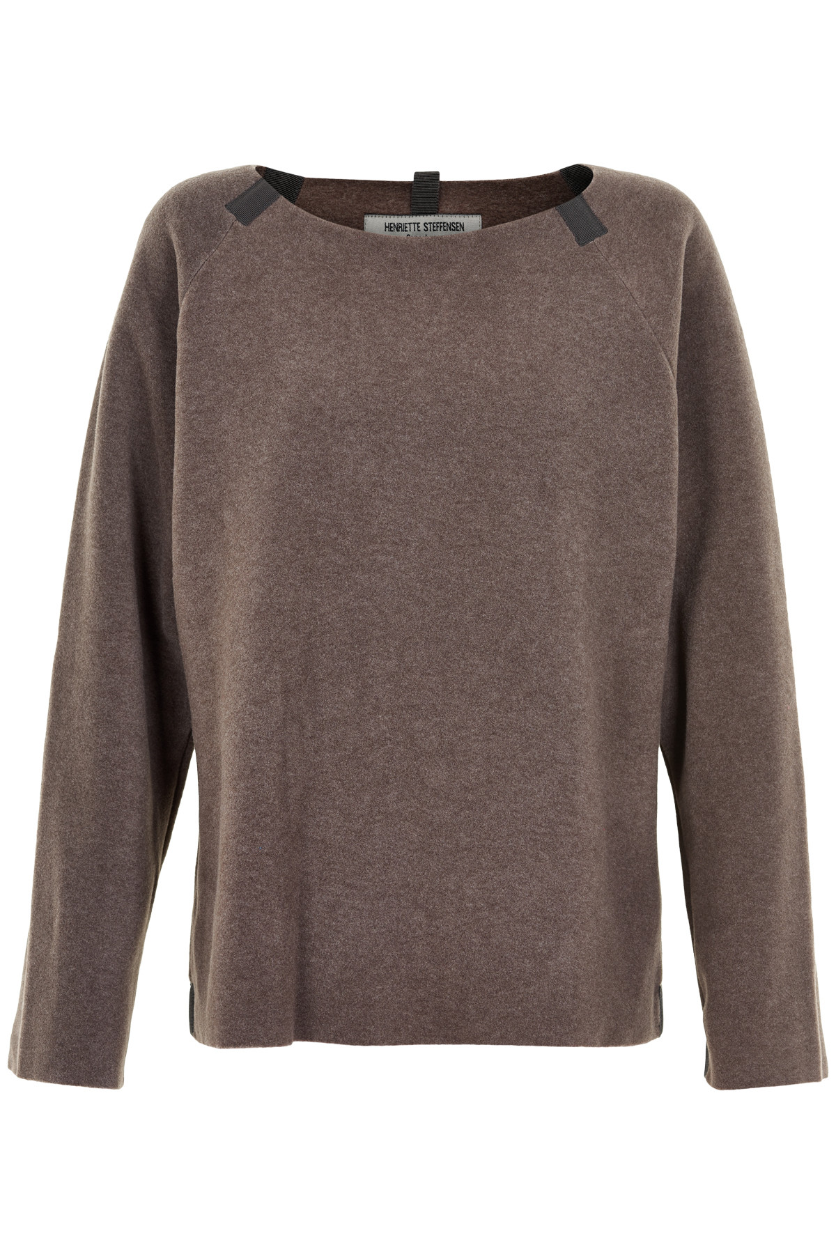 Image of   HENRIETTE STEFFENSEN Copenhagen 1290 SWEATER BROWN (Brown, XS)