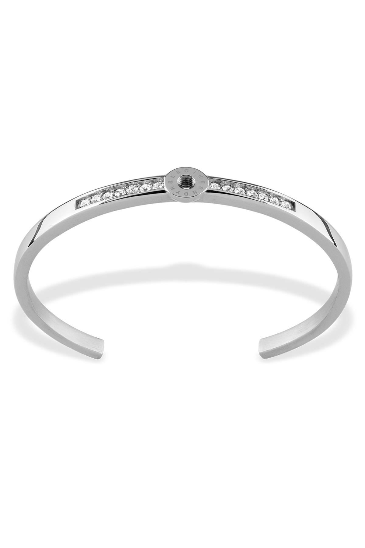 Image of   DYRBERG/KERN BRACELET 2 ARMBÅND 350496 (Silver, Crystal, 0/48)