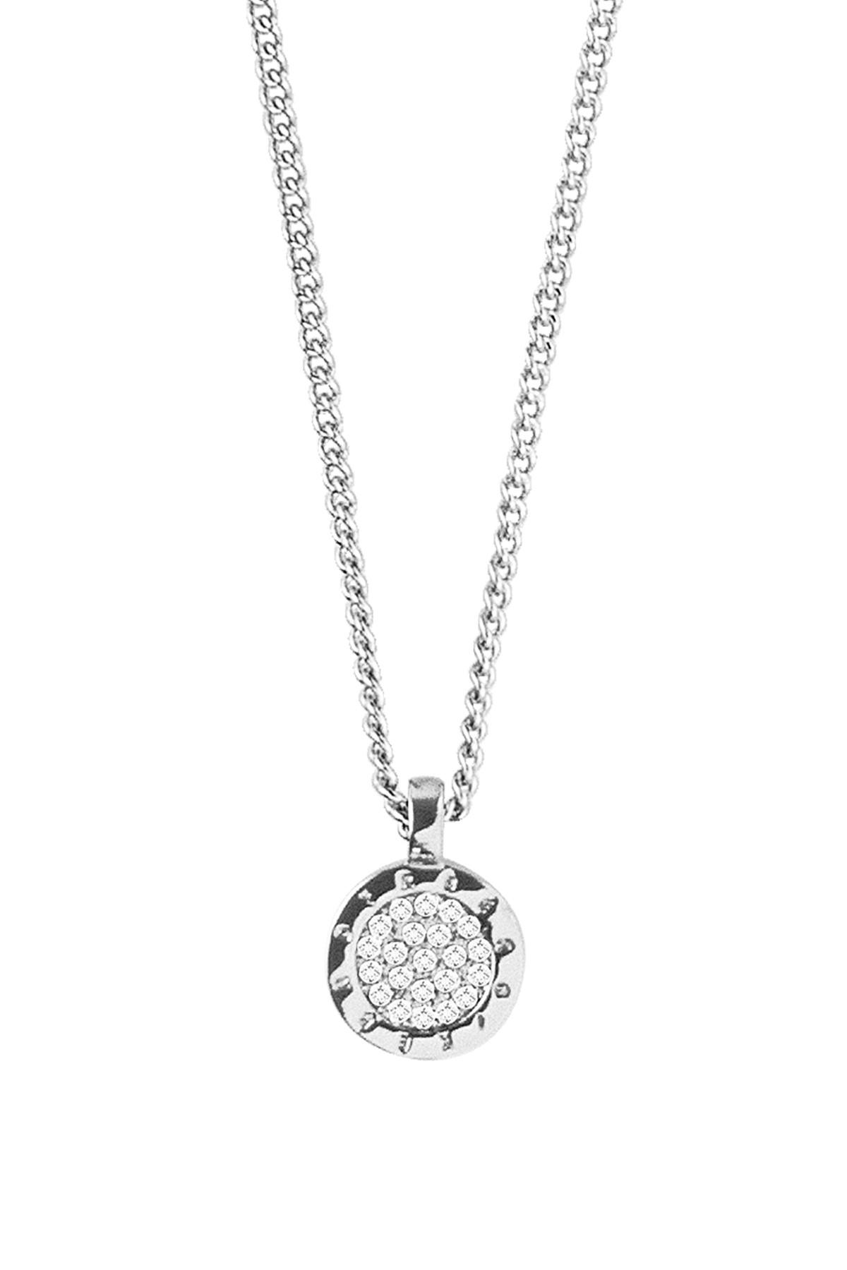 Image of   DYRBERG/KERN ALIA HALSKÆDE 350866 (Silver, Crystal, ONESIZE)