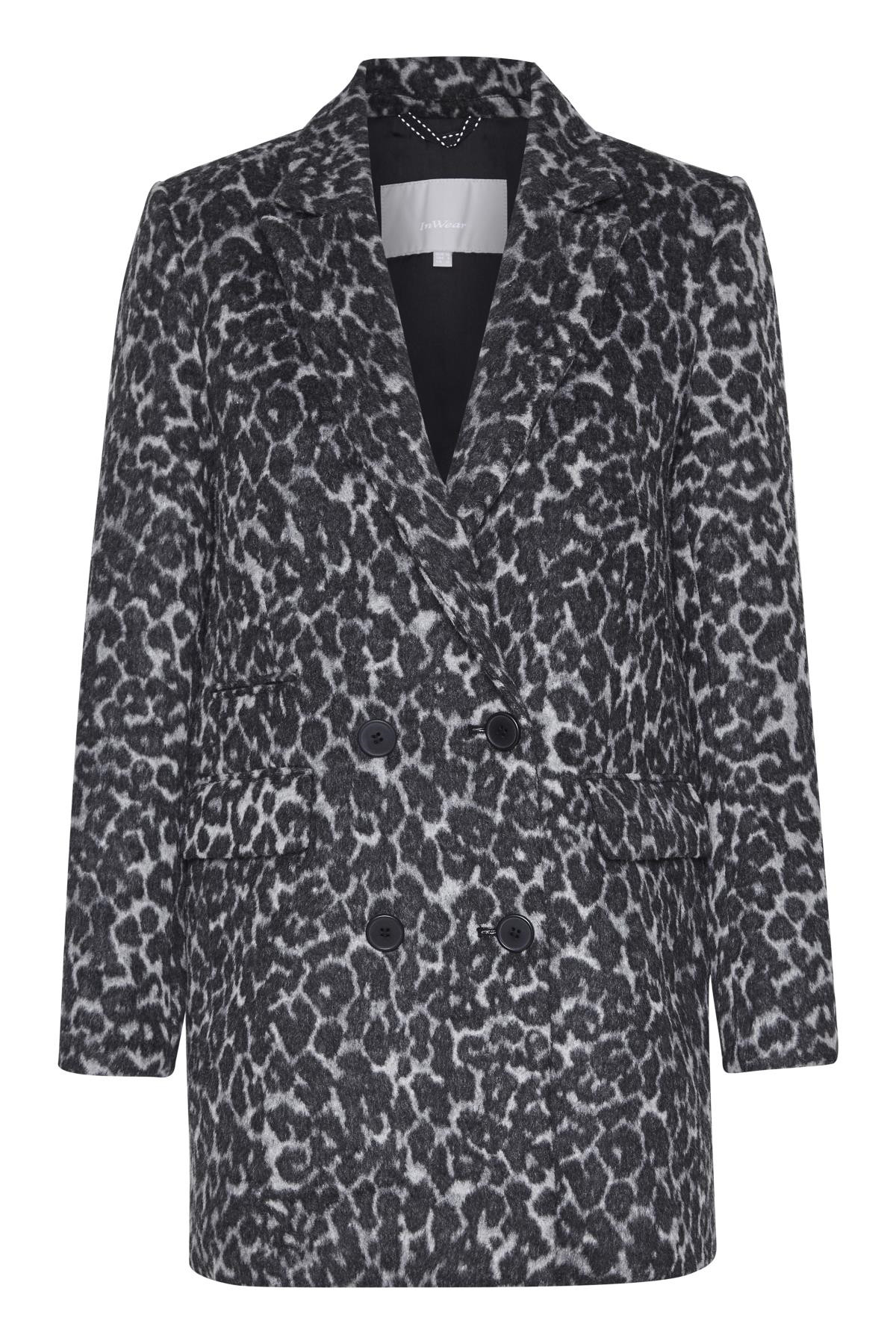 Image of   InWear GIOVANNA BLAZER 30103438 (Leopard Non-color 11367, 38)