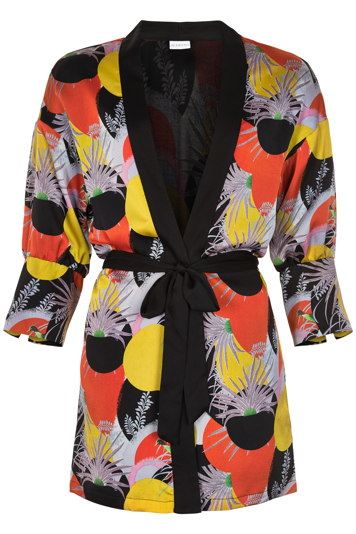 Image of   IN FRONT CATIA KIMONO CARDIGAN 12856 (Multicolour 000, M/L)